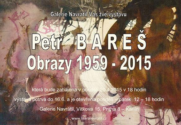 Petr Bares obrazy vystava